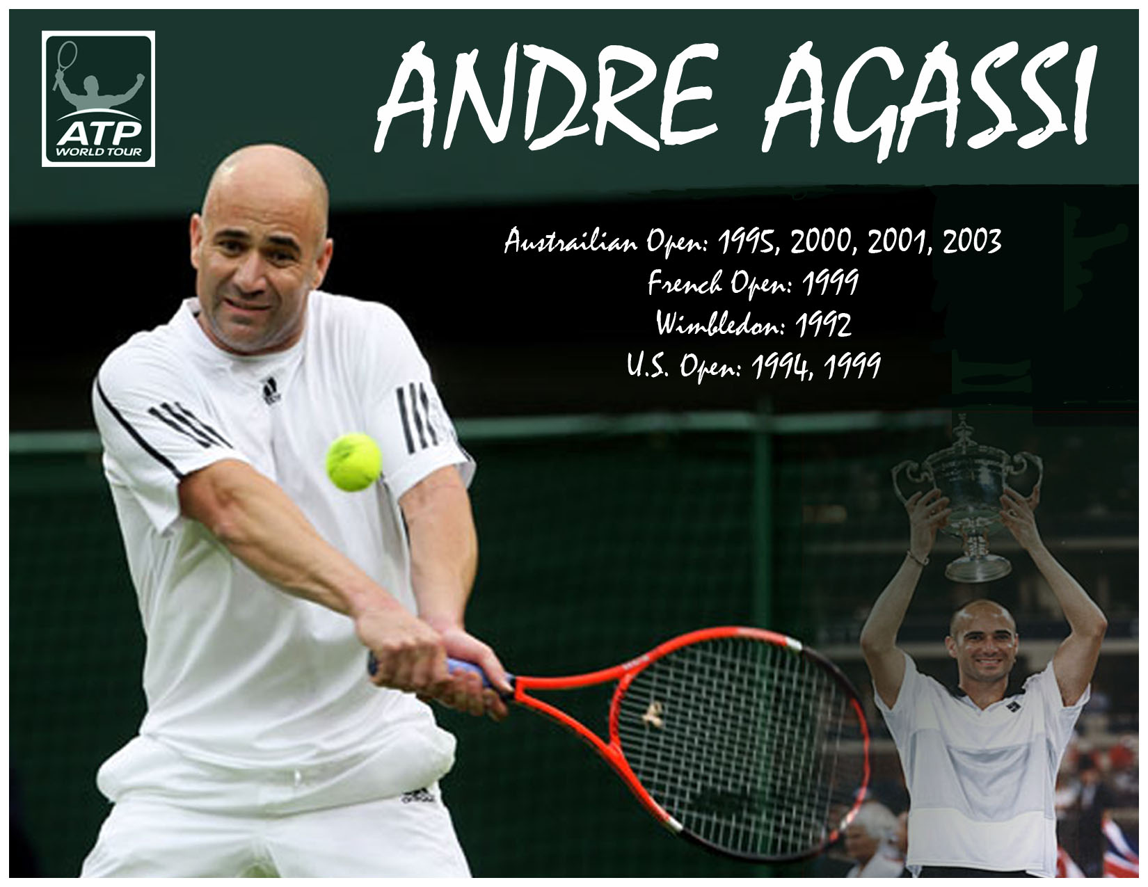 Picture of Andre Agassi