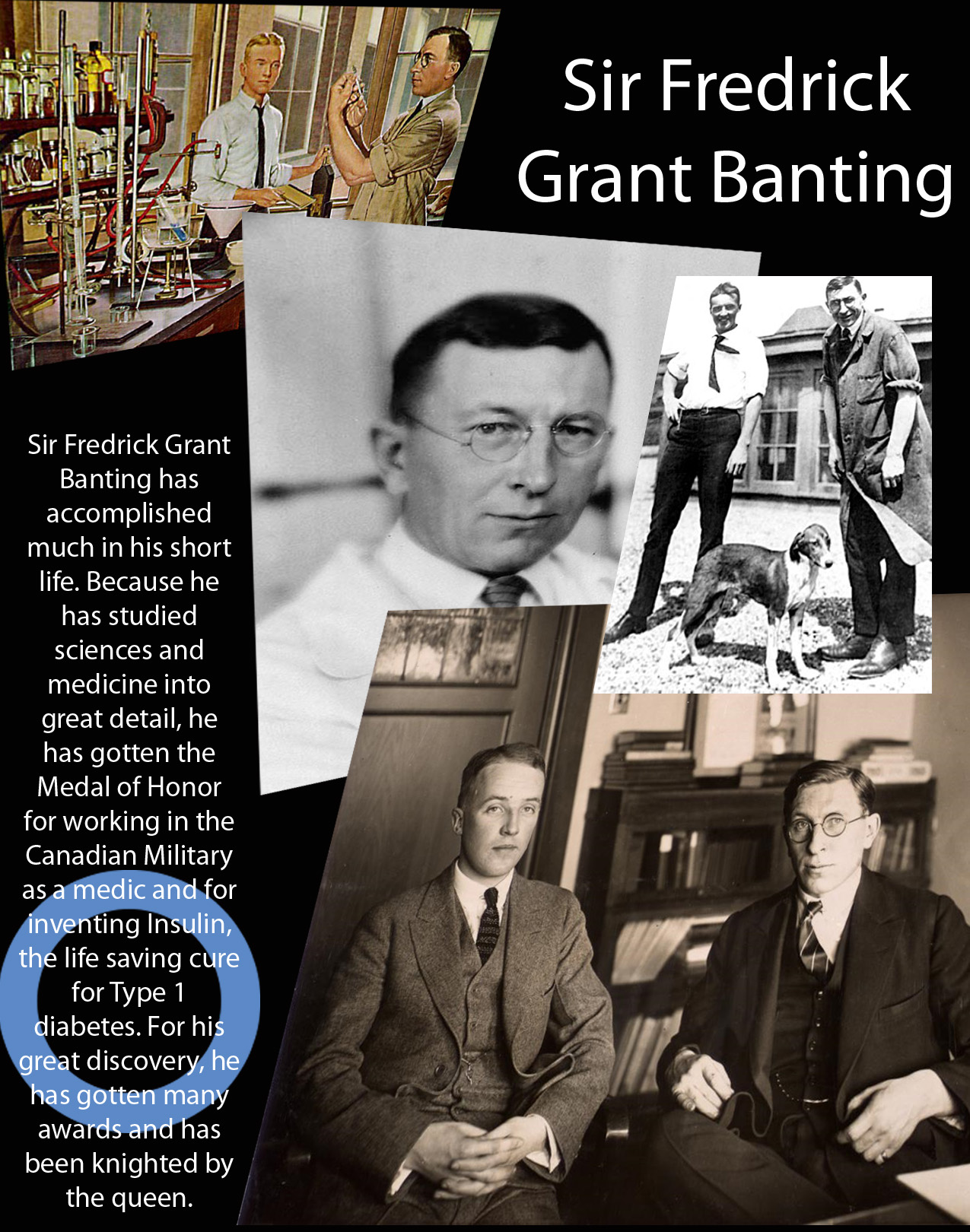essay about frederick banting Discover the best homework help resource for biology at sir frederick banting secondary school find biology study guides, notes, and practice tests for sir.