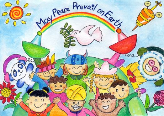 Picture of MAY PEACE PREVAIL ON EARTH