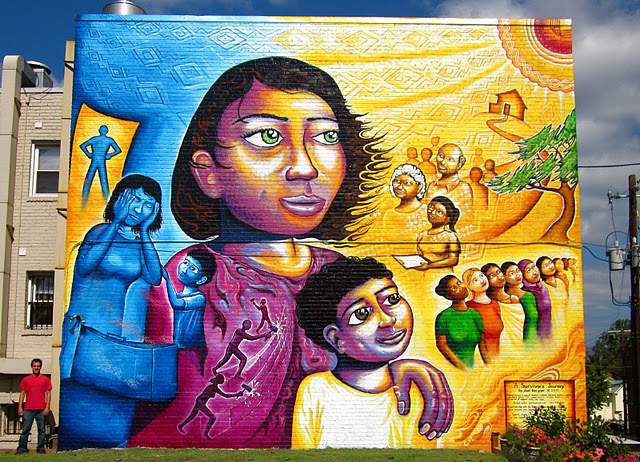 Picture of A Survivor's Journey:  The Domestic Violence Awareness Mural