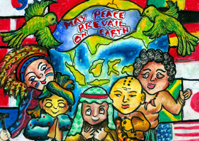 essay on may peace prevail on earth The subject be what it may the sentiment they instil is of more value than any  thought they may contain  complete essay: self-reliance i read the other day .