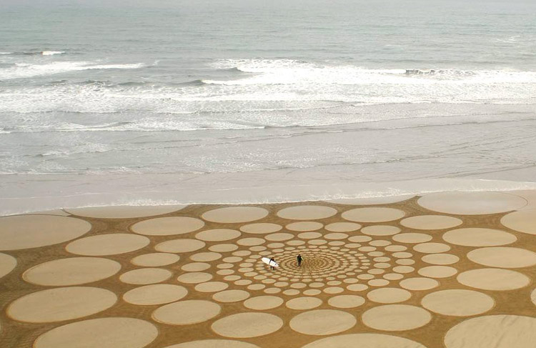 Picture of Circles on the beach