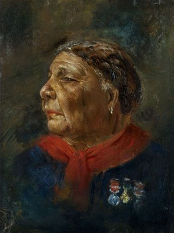 Picture of Mary Seacole by Albert Charles Challen