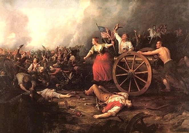 molly pitcher at the battle of monmouth molly pitcher at the