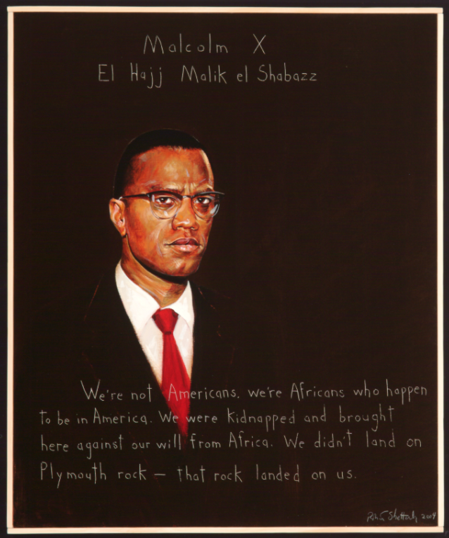 Picture of Malcolm X