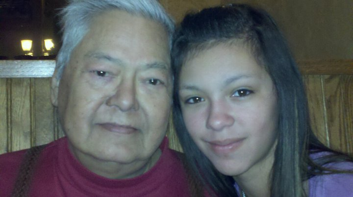 Picture of This is my grandfather, George, and I.