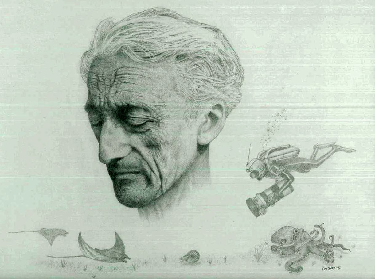 Picture of Jacques-Yves Cousteau