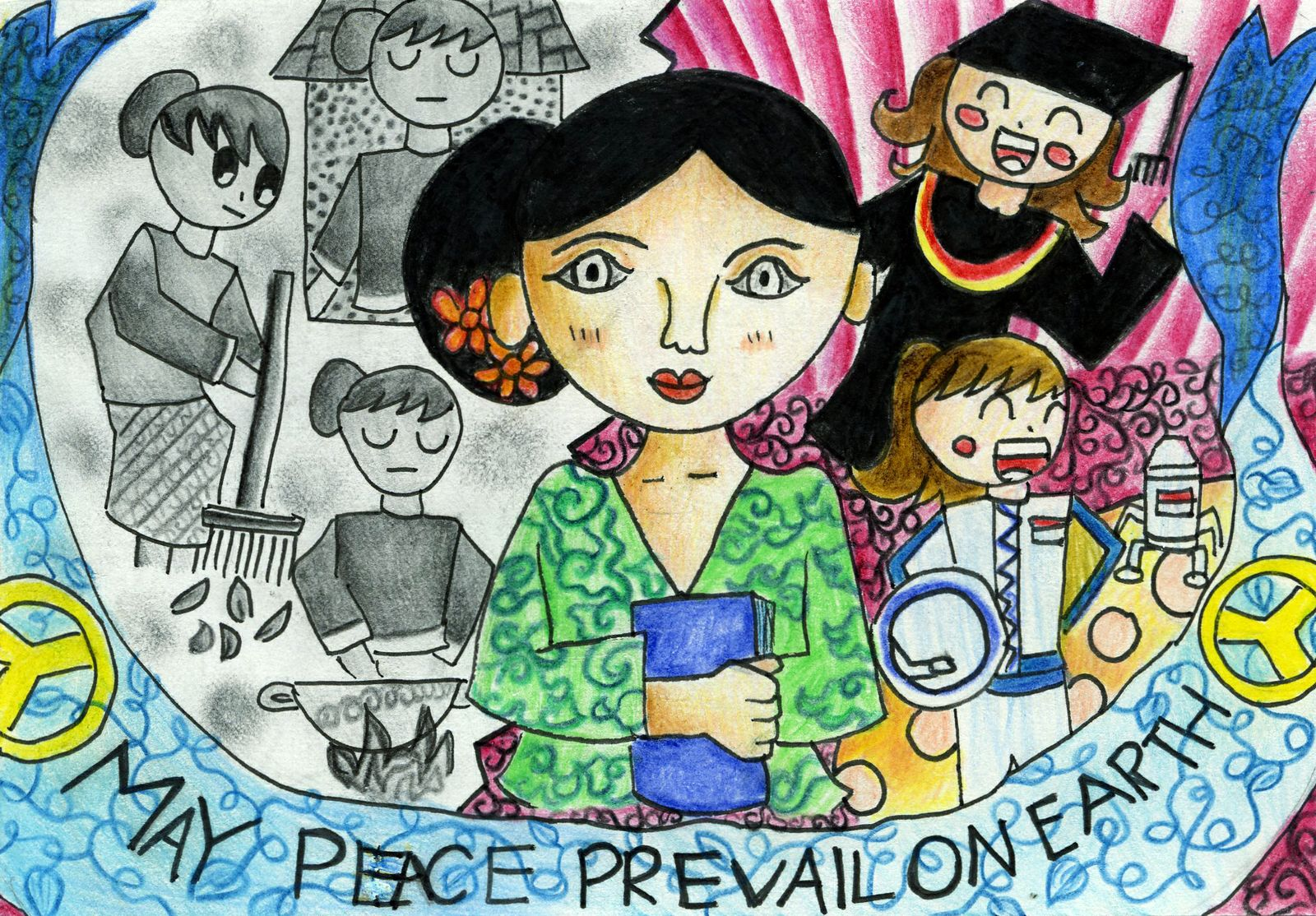 may peace prevail on earth essay Essay on world peace  proficient essay on peace prevail on peace  an independent forum for young people around the washington may prevail on earth.