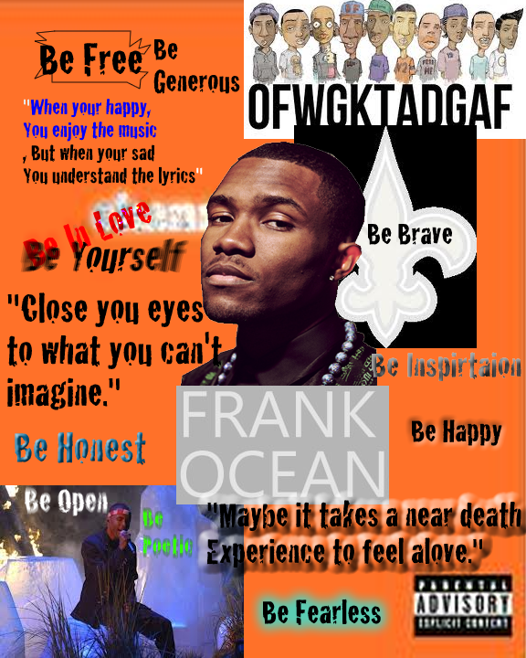 Picture of Frank Ocean Collage