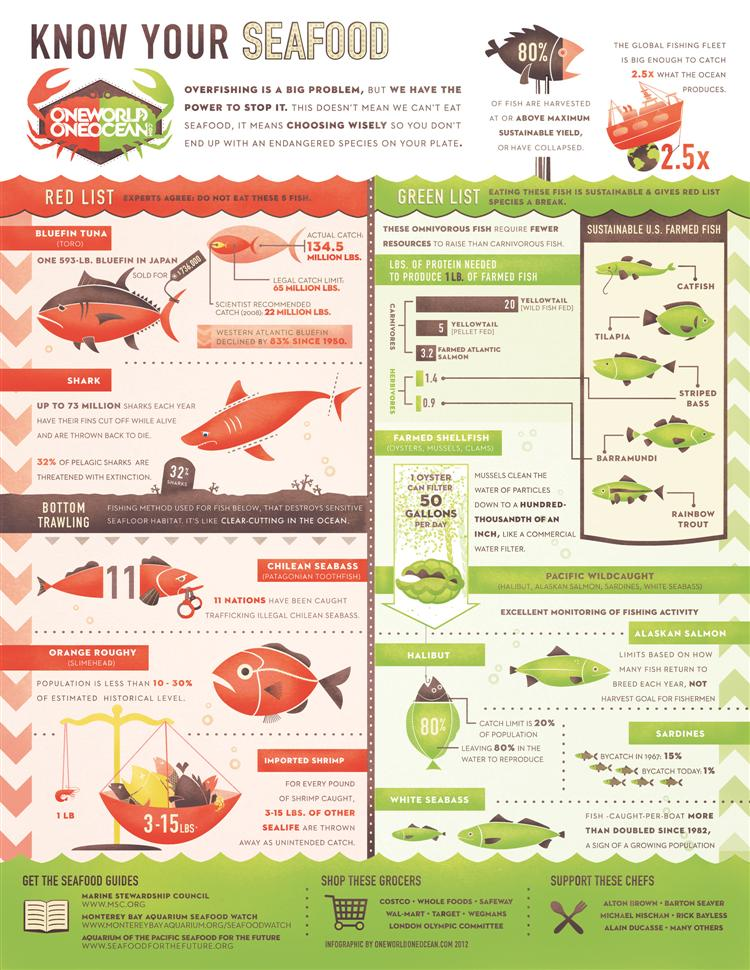 Picture of Know Your Seafood- Sustainable fish choices