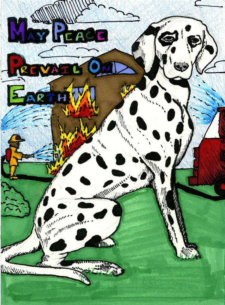 Picture of Dalmatian - Friend of the Firefighter
