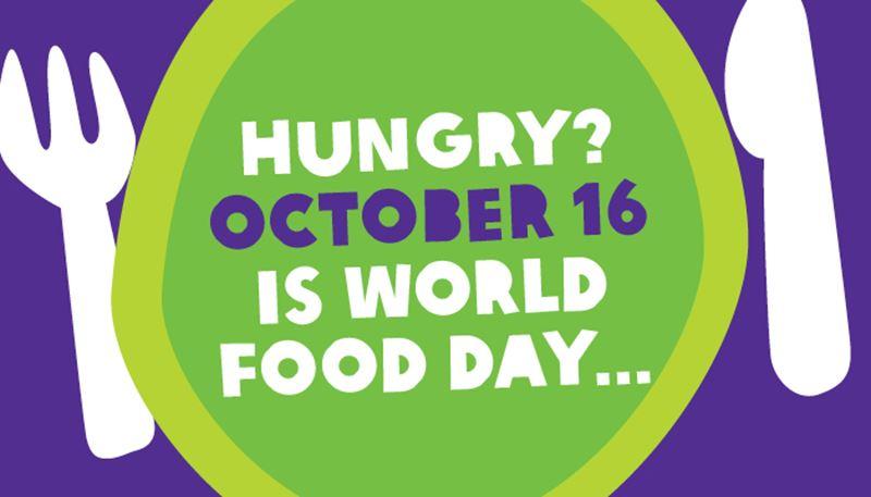 Αποτέλεσμα εικόνας για world food day posters
