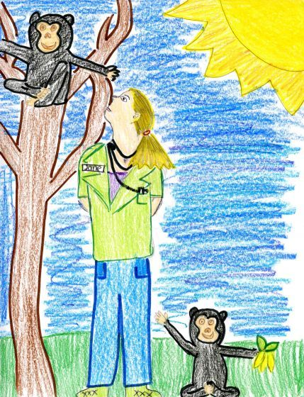 Picture of Jane Goodall by Christina from California