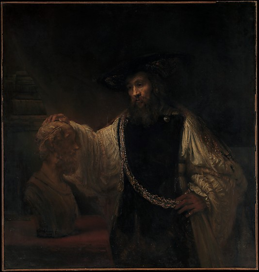 Picture of Aristotle with a Bust of Homer