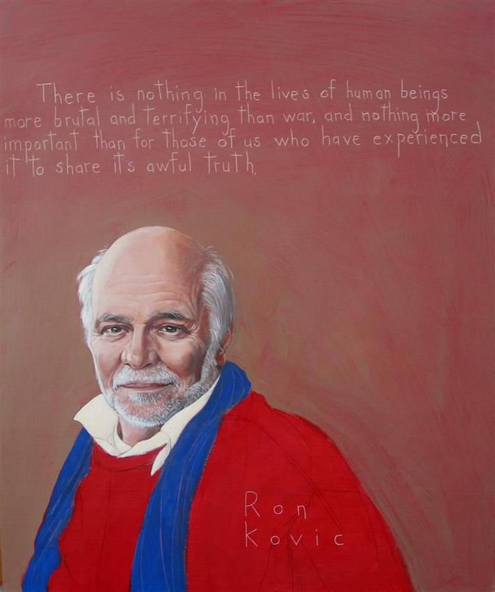 Picture of Ron Kovic by Robert Shetterly, AWTT.org