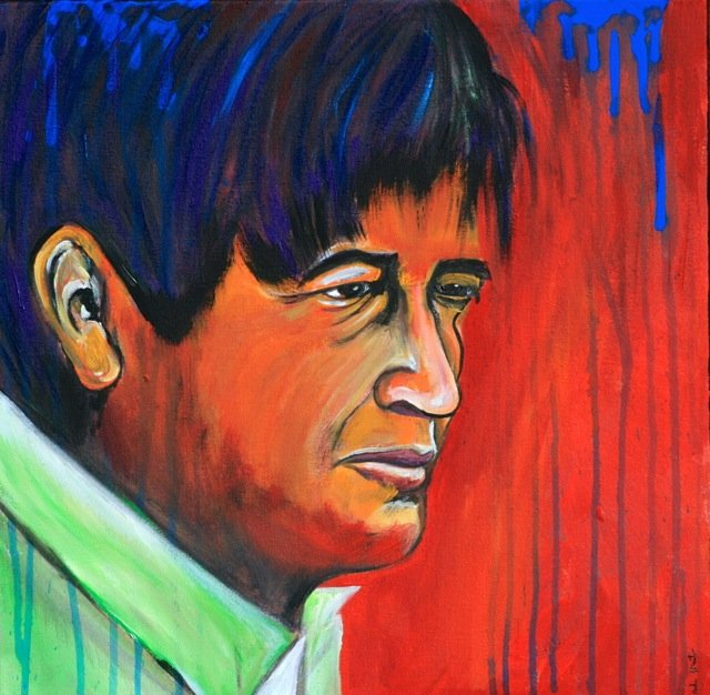 Picture of Cesar Chavez by Marilyn Huerta