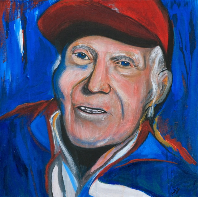Picture of Louis Zamperini by Marilyn Huerta