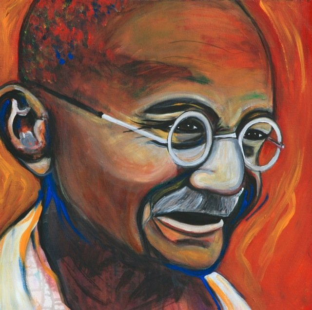 Picture of Mahatma Gandhi