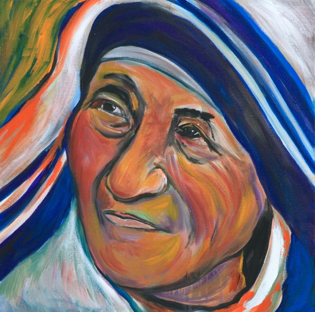 Picture of Mother Teresa by Marilyn Huerta