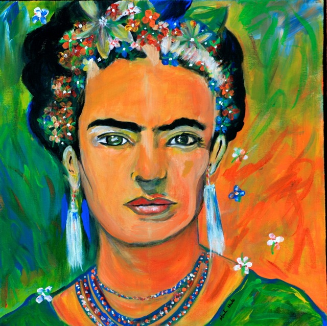Picture of Frida Kahlo by Marilyn Huerta