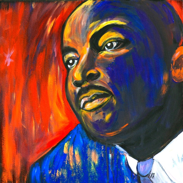 Martin Luther King Painting