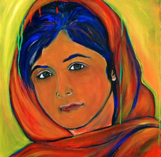 Picture of Malala  by Marilyn Huerta