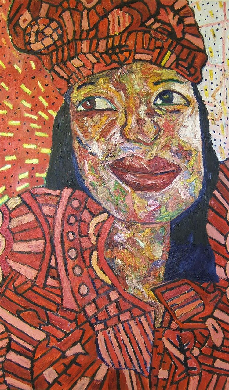 Picture of Jacqueline Moudeina - Human Rights Painting Project