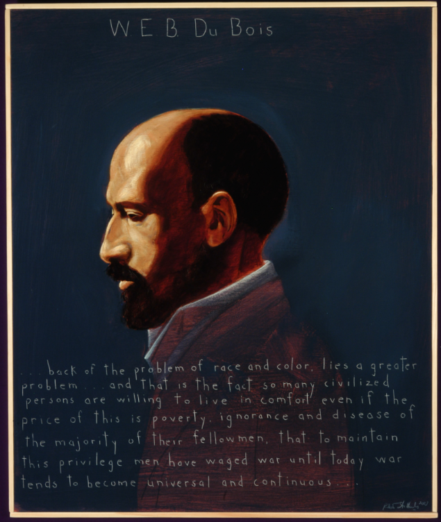 Picture of W.E.B. Du Bois by Robert Shetterly