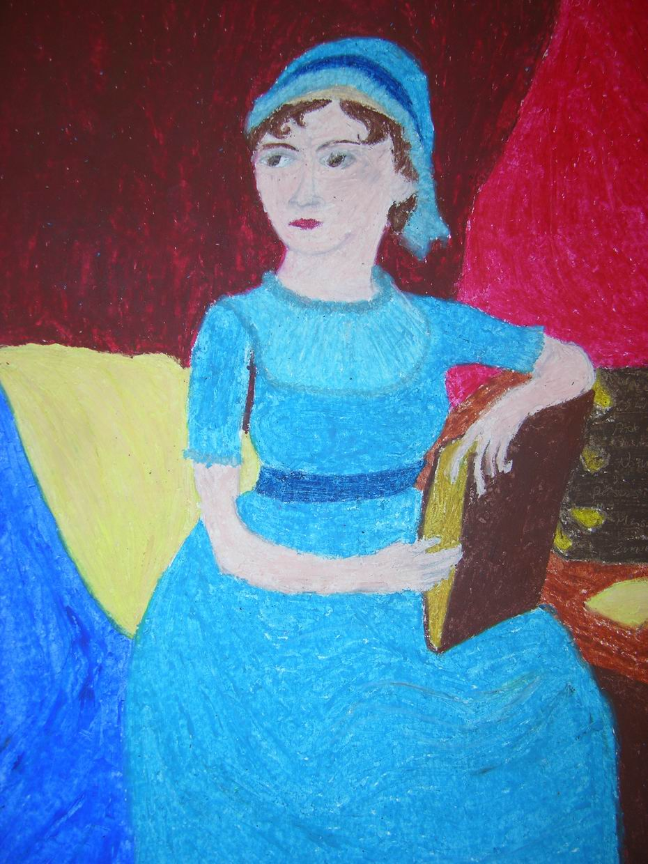 Picture of Jane Austen by Samantha from Taft High School