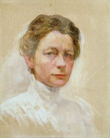Self-portrait in White, around 1910