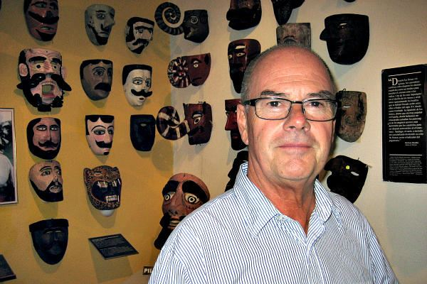 Picture of Bill LeVasseur - Preserving Mexico's folk art masks