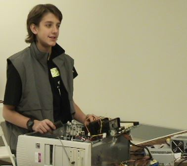 Picture of Jacob Komar and Computers for Communities