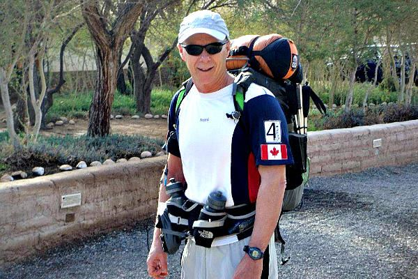 Picture of Len Stanmore mixes adventure with helping others