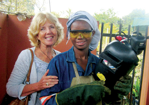 Picture of Libby Weir turned her 'passion' for Africa into a life of service