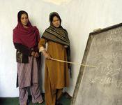 Afghan Women in Rezai's Literacy Class (http://www.unmultimedia.org)