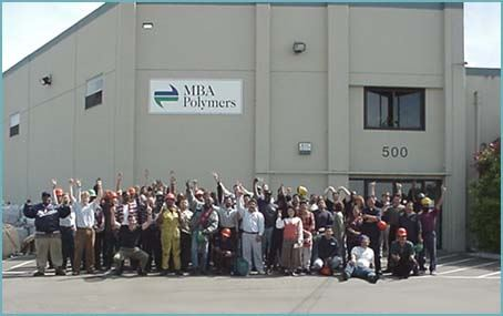 Picture of Michael Biddle and MBA Polymers