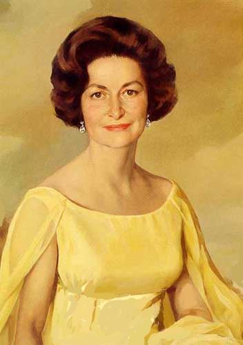 Picture of Lady Bird Johnson