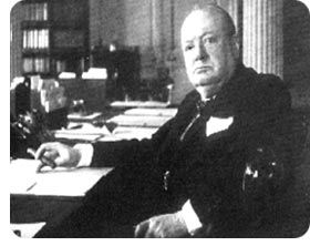 Picture of Winston Churchill