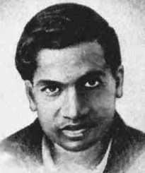 Picture of Srinivasa Ramanujan