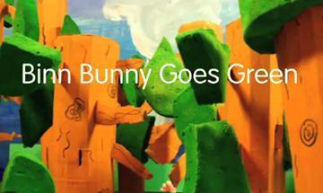 Picture of Binn Bunny Goes Green