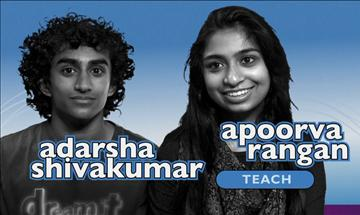 Picture of Adarsha and Apoorva