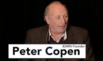 Picture of Global Educator Award - Peter Copen - iEARN 25