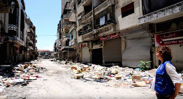 Picture of A Diary From Syria - Walking The Empty Streets of Homs