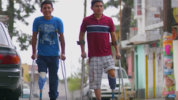 Picture of Providing Mobility Through Low-Cost Prosthetics