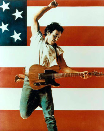 Picture of Musician Hero Bruce Springsteen by Wendy Jewell