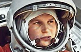 Picture of Woman Hero: Valentina Tereshkova by Alina from Novosibirsk