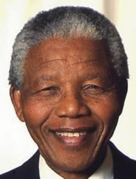 Picture of Nelson Mandela by Muhammad Ali