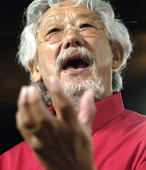 Picture of Earthkeeper Hero: David T. Suzuki by Anthony from Edmonton -