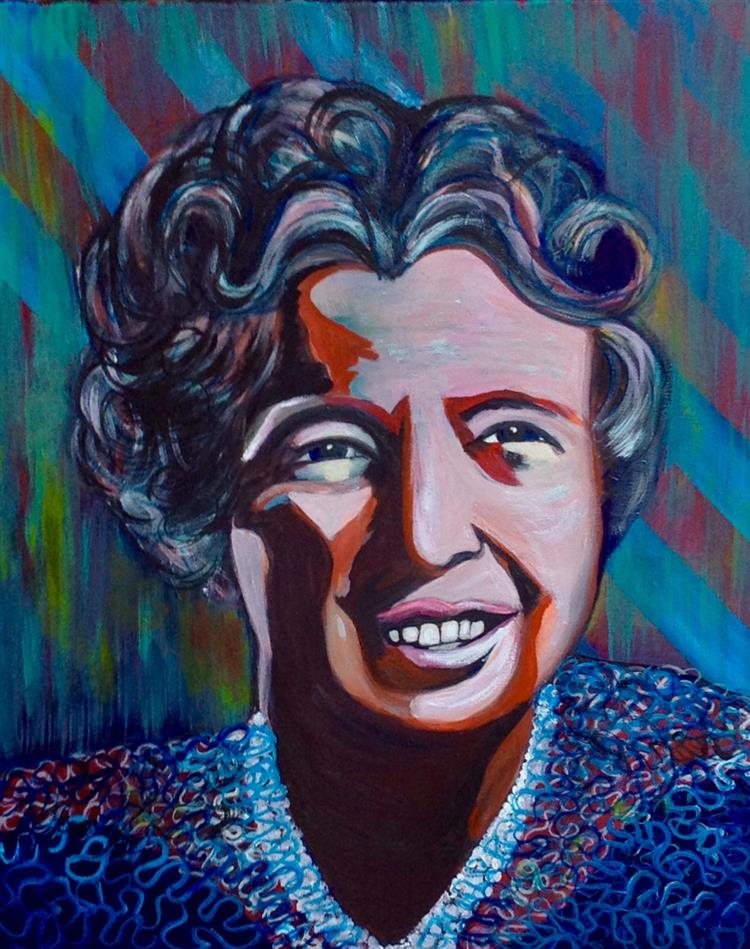 Picture of Eleanor Roosevelt for President!