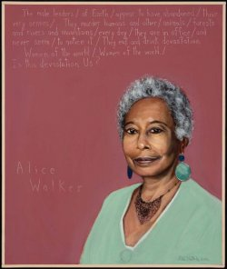 Picture of Alice Walker by Robert Shetterly, AWTT.org